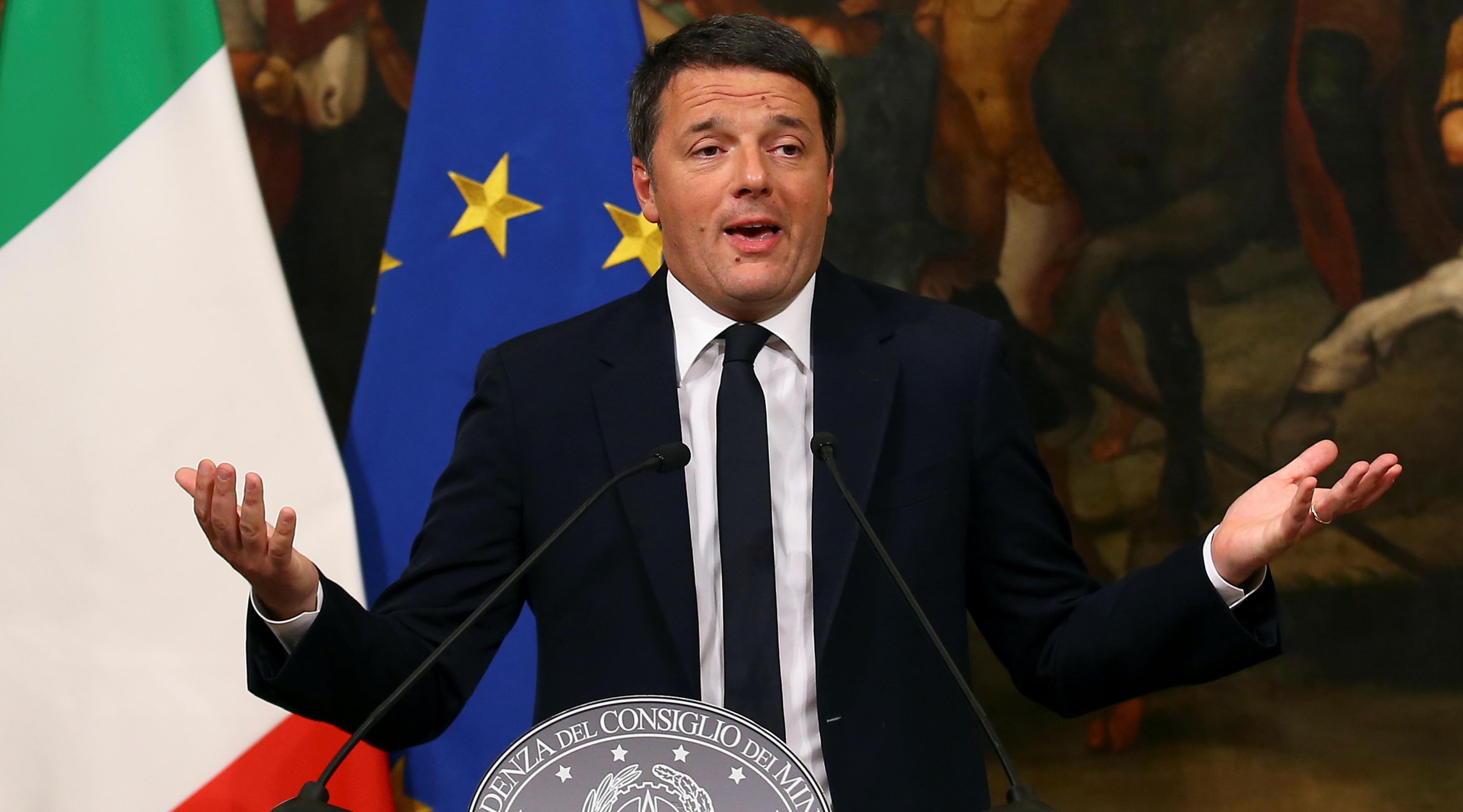 Премьер-министр Италии объявил о своей отставке