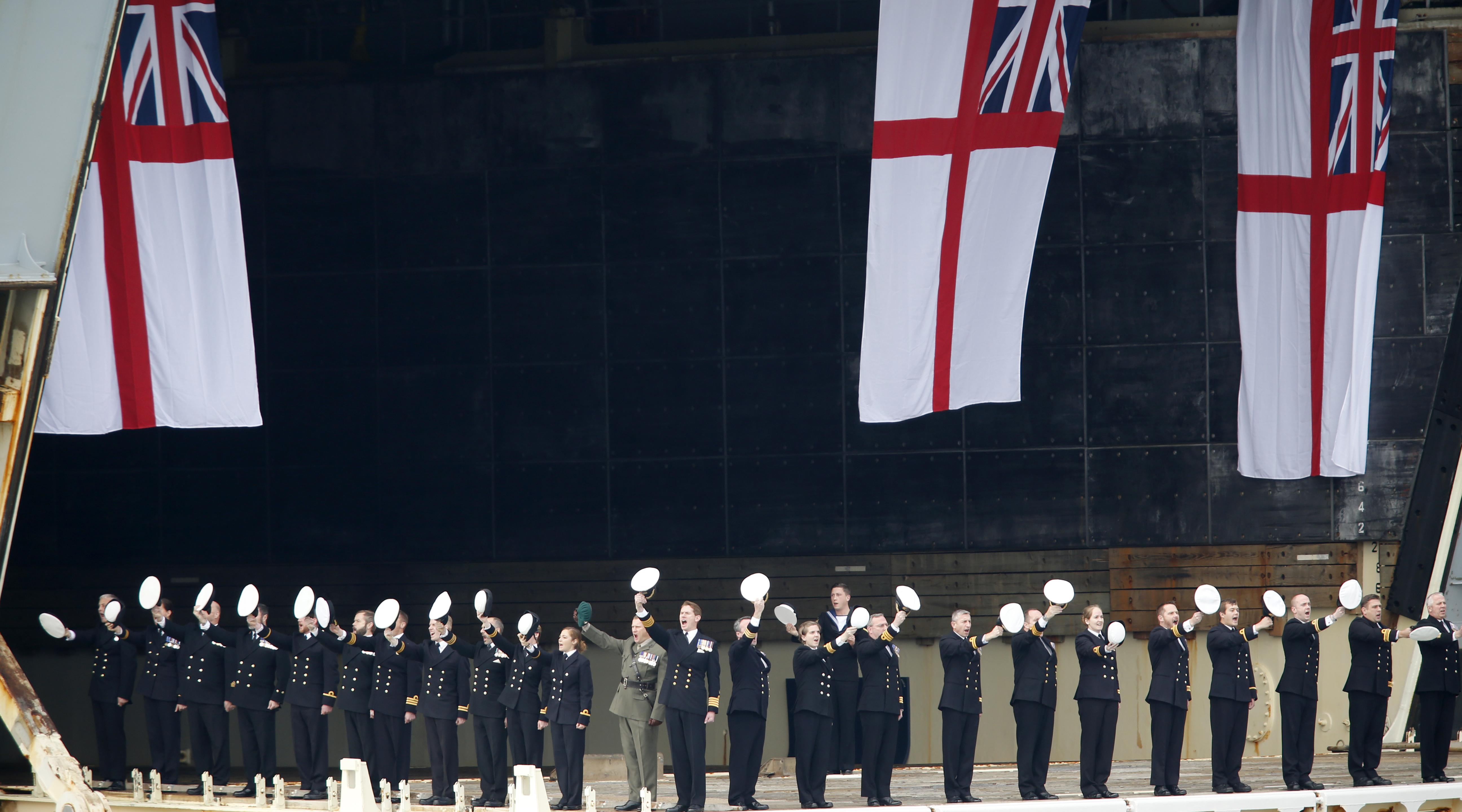 Доклад главы ВС Великобритании: Лондон не сможет защитить себя в случае нападения РФ