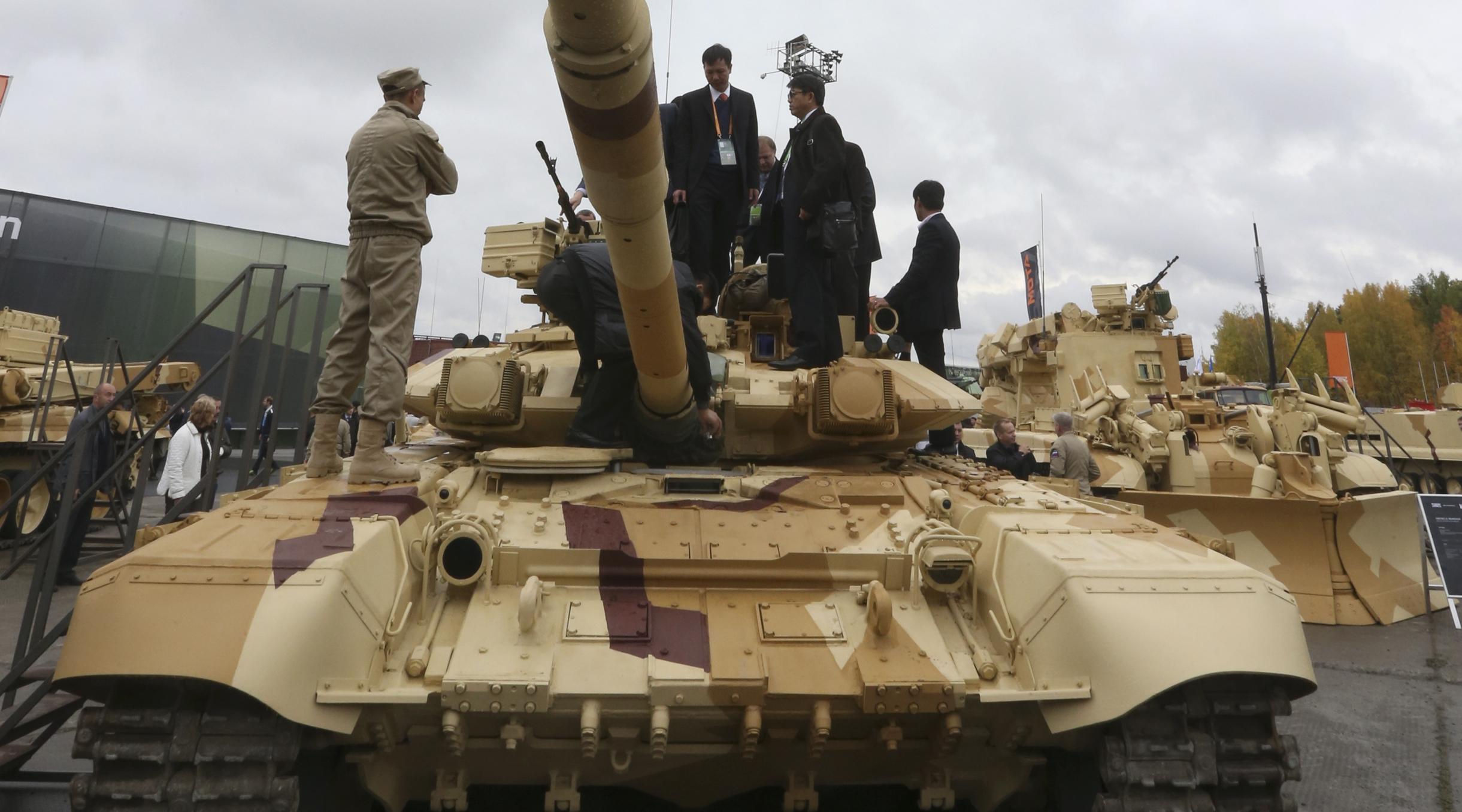 Российские танки в сирии 23 фотография