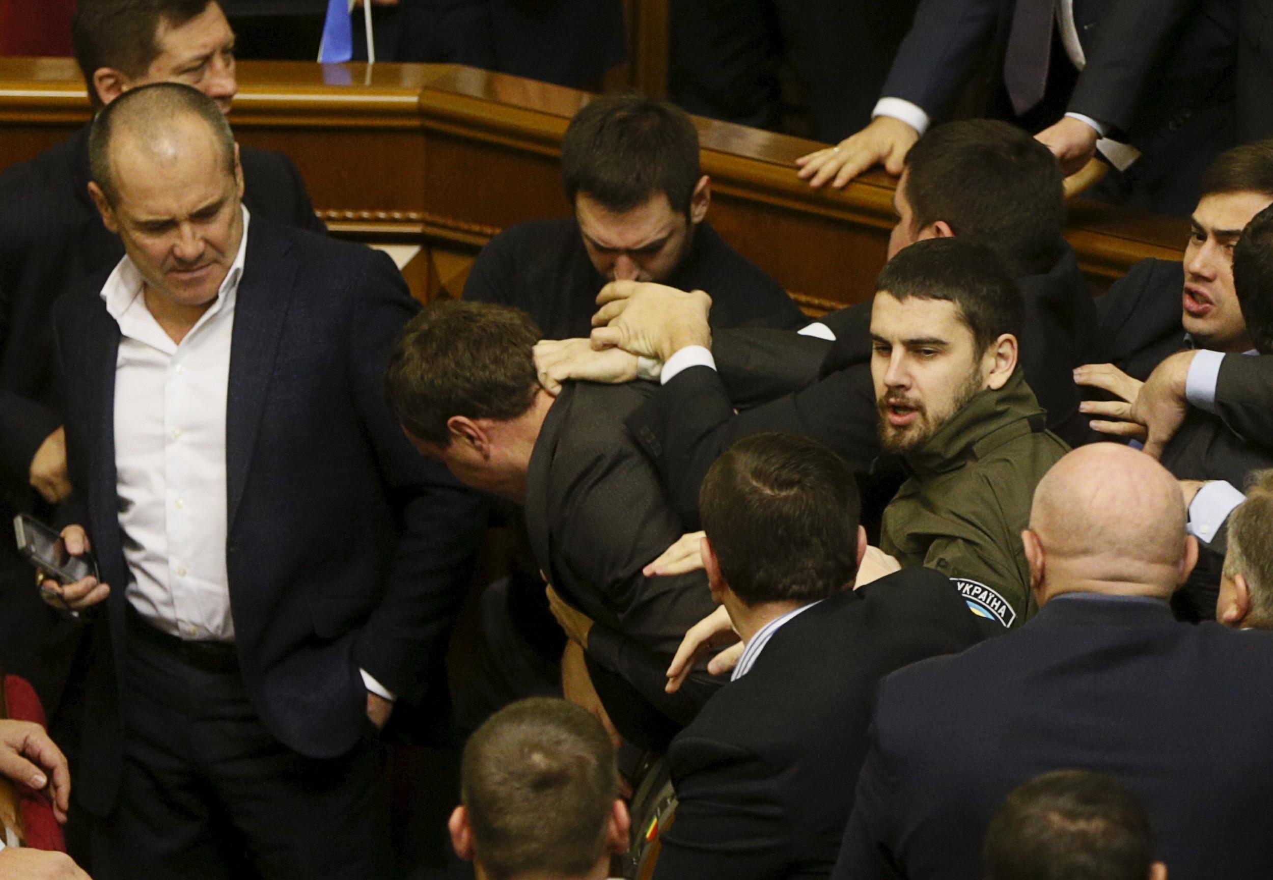 Верховная Рада Украины поставила под удар целостность страны
