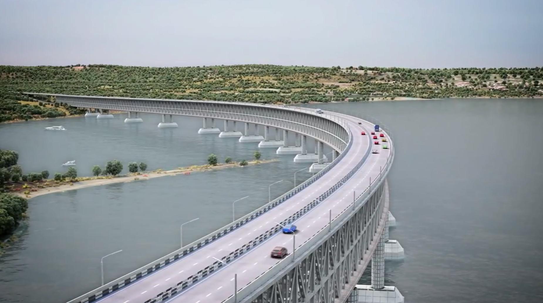 К Керченскому мосту доставили 5 млн. тн. строительных материалов. Новости ООО ВЕЛЕС ПЛЮС