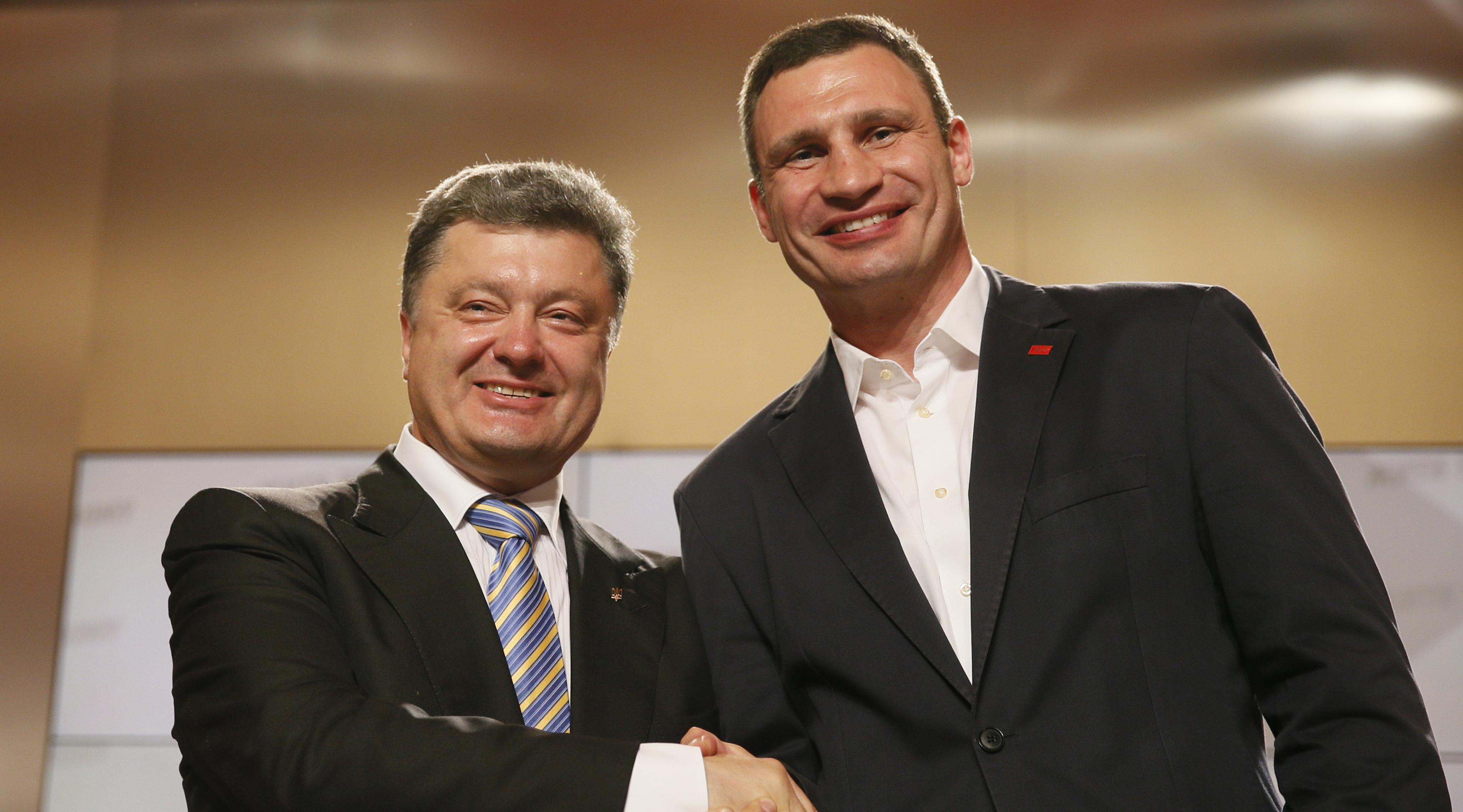 Кличко выделил миллионы на ремонт дороги, ведущей к предприятиям Порошенко
