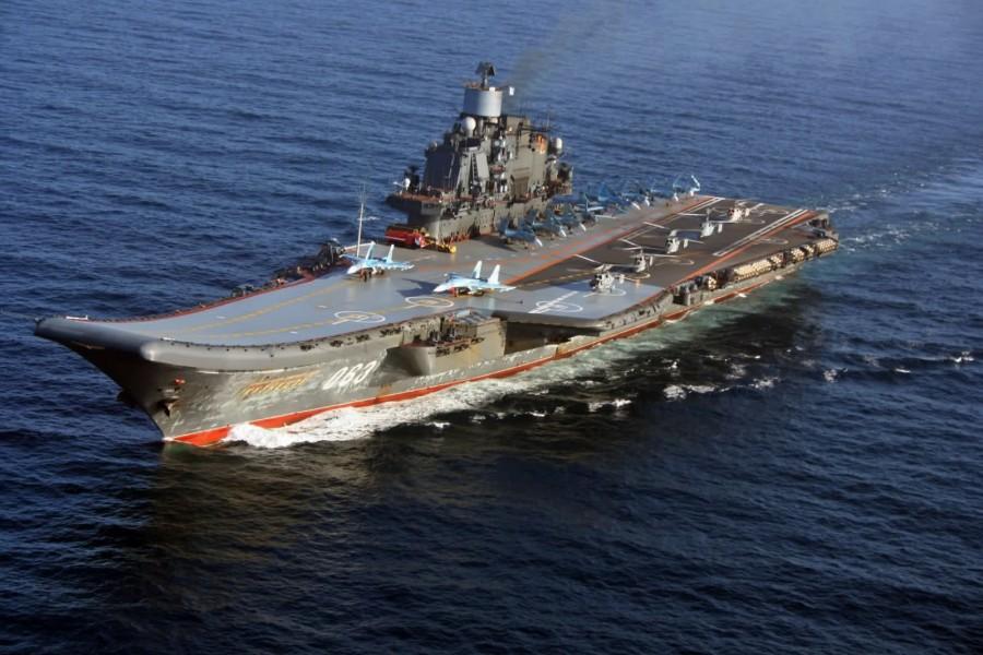 Картинки по запросу российский авианосец