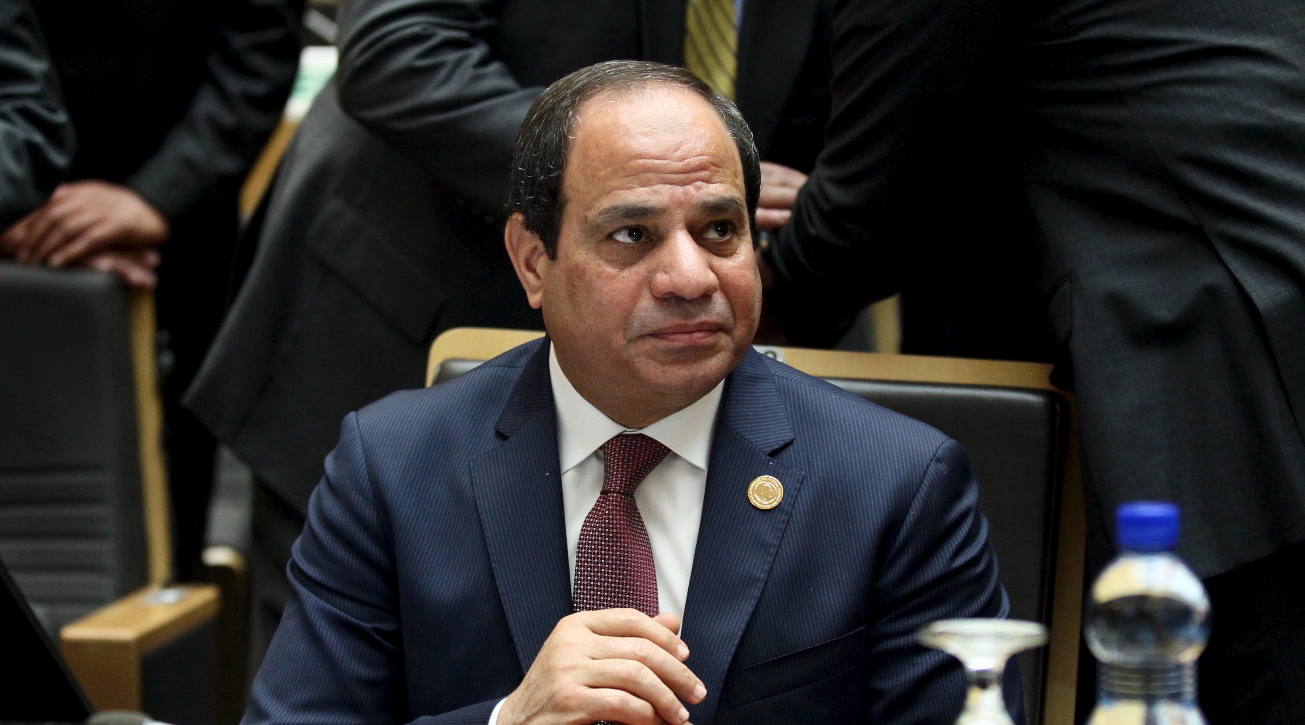 Президента Египта выставили на продажу в интернете