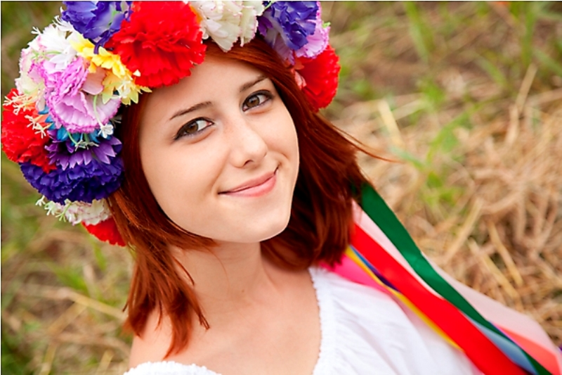 девушка украинка фото