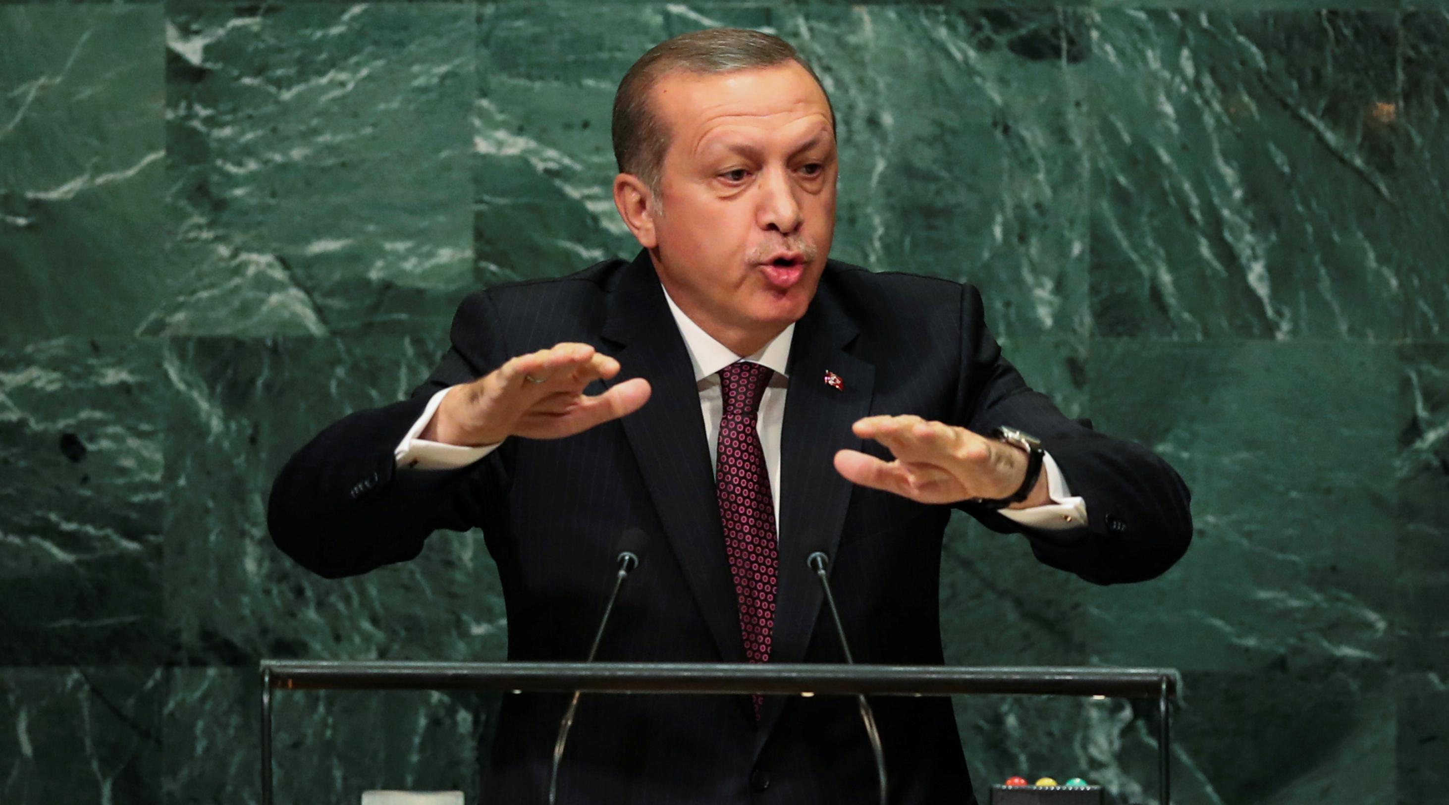 Эрдоган пророчит ООН ведущую роль в борьбе с терроризмом