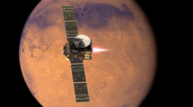 """Десантный модуль """"Скиапарелли"""" потерпел крушение при посадке на Марс"""