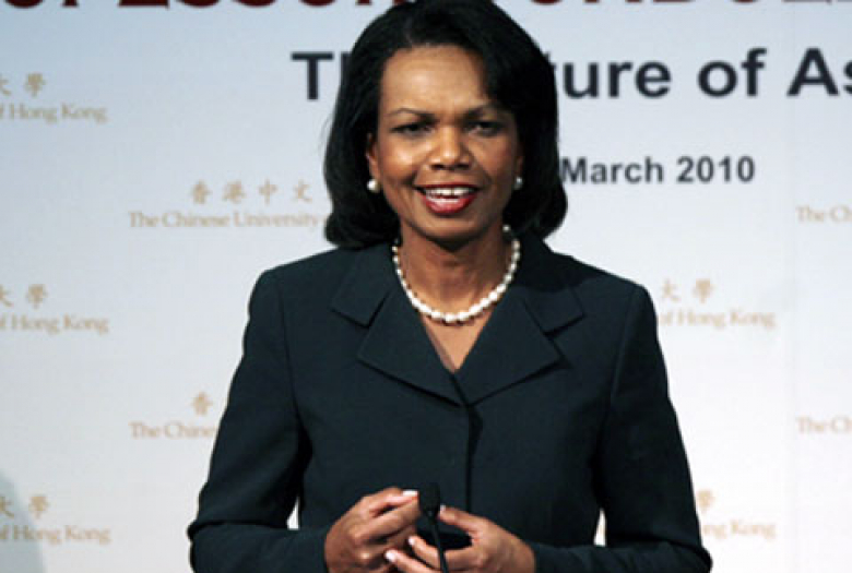a biography of condoleezza rice Condoleezza rice, who chaired the commission on college basketball, was the 66th us secretary of state and former provost and professor at stanford university.