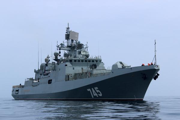 ИзСевастополя вСирию вышел фрегат «Адмирал Григорович»