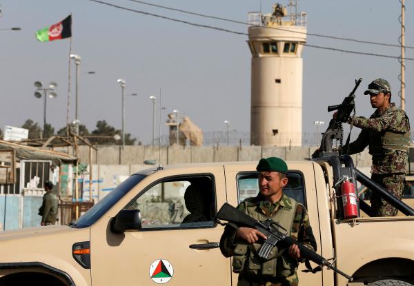 Афганская разведка предупреждала о готовящемся нападении на базу США