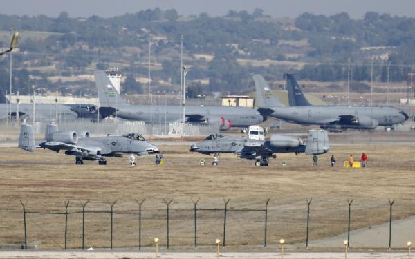 ВТурции начались протесты убазы НАТО, американское консульство закрыли