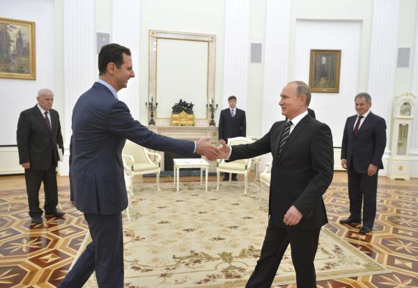 Башар Асад: Путин — единственный защитник христианской цивилизации