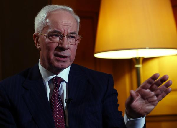 Азаров: Вранью Киева не поверит даже умалишенный