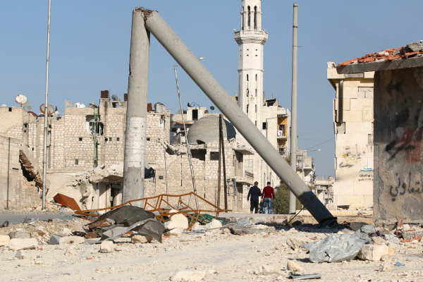 Боевики применили отравляющее вещество вбоях уаэропорта Алеппо