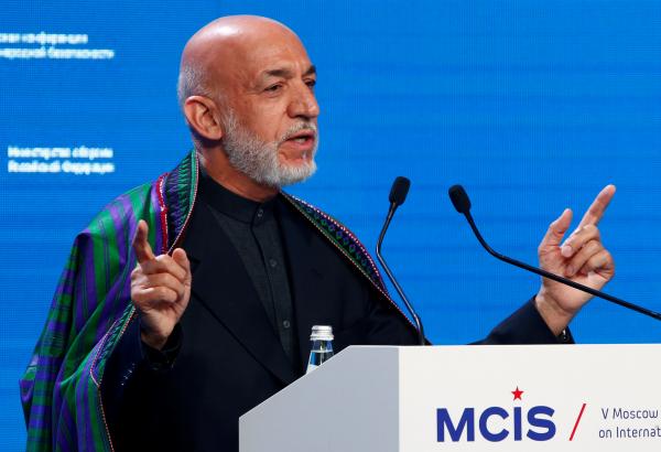 Отприсутствия США пользы нет— Экс-президент Афганистана