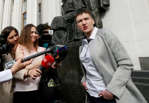 Савченко: нынешняя украинская власть пришла накрови майдана