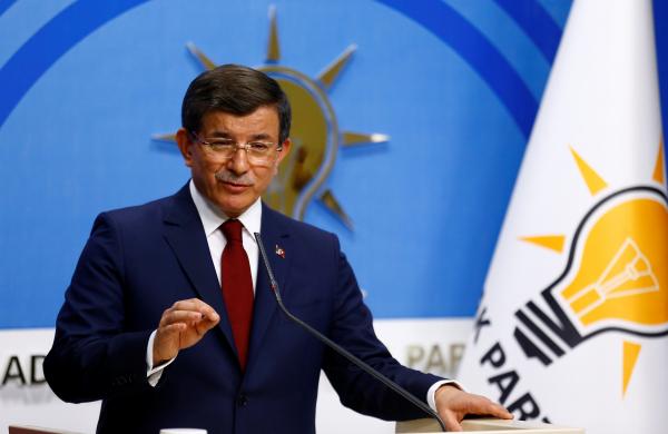 Премьер Турции уходит вотставку