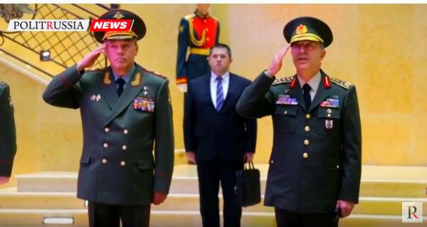 Руководителя генштабов РФ иТурции обсудили нормализацию ситуации вАлеппо
