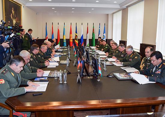 Руководитель Генштаба РФ призвал страны СНГ усилить борьбу стерроризмом