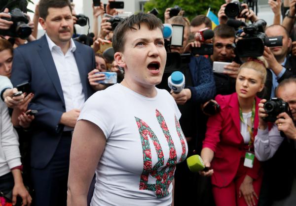 Госдепартамент США порекомендовал Савченко посидеть дома с мамой