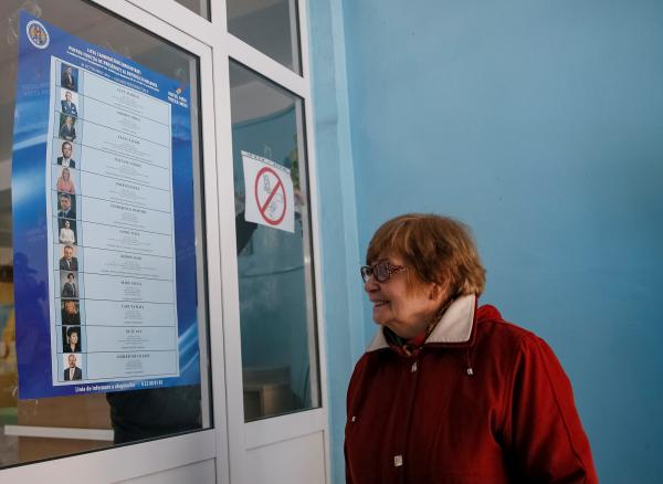 ВМолдове проходят выборы президента страны
