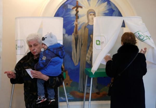 ВГрузии закончился 2-ой тур парламентских выборов