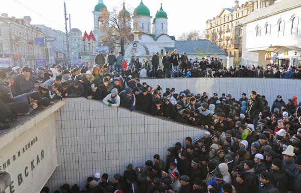 Исламизация России - следствие исчезающей идентичности