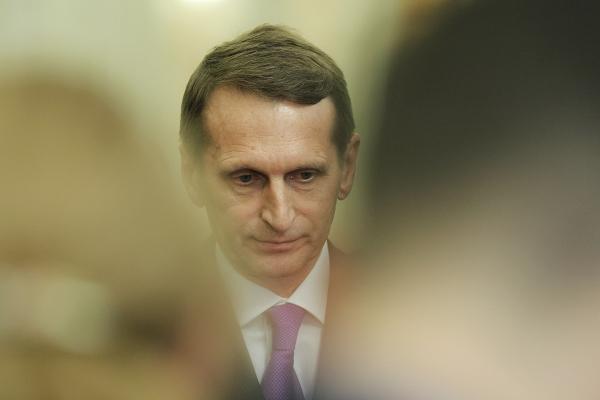 «Как вТретьем рейхе»— Нарышкин боится, что вУкраинском государстве начнут сжигать книги