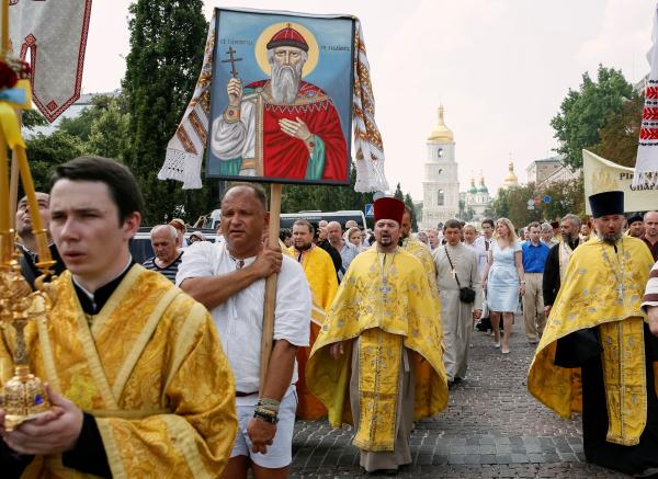 Победа князя Владимира в опросе на Украине - поражение бандеровцев?