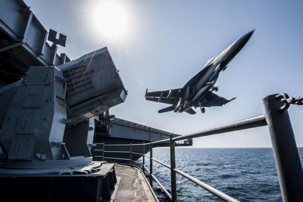 Китай впервые перехватил корабль ВМС США