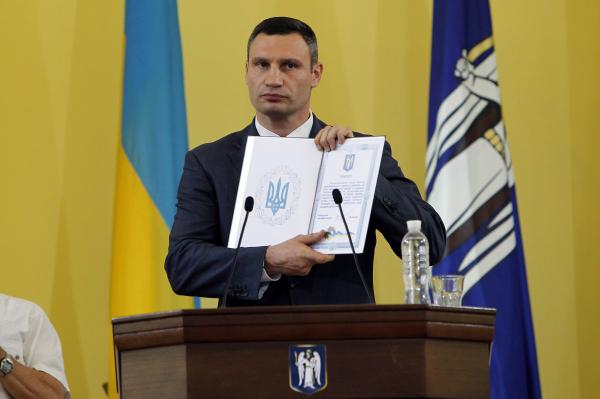 Кличко не видит для себя конкурентов на грядущих выборах в Киеве