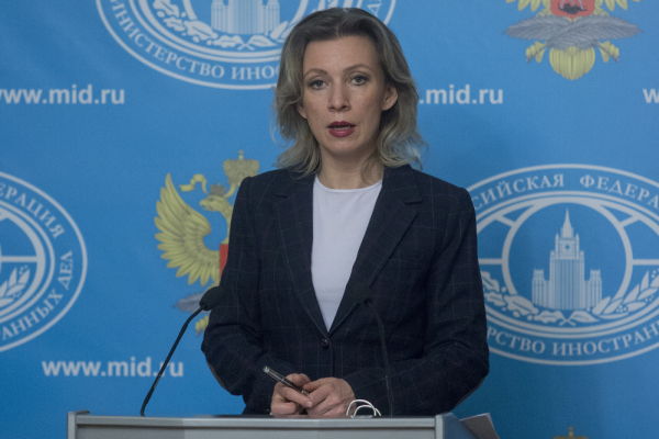 Мария Захарова получила комплимент отпольского военного