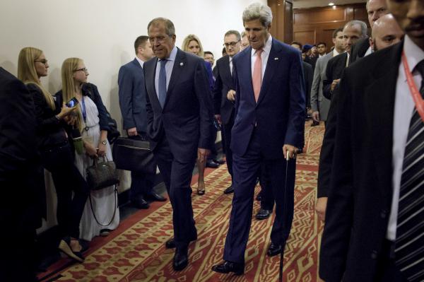 Лавров пояснил Керри позицию России по Сирии