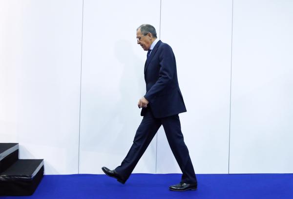 Лавров прилетел вШвейцарию напереговоры поСирии