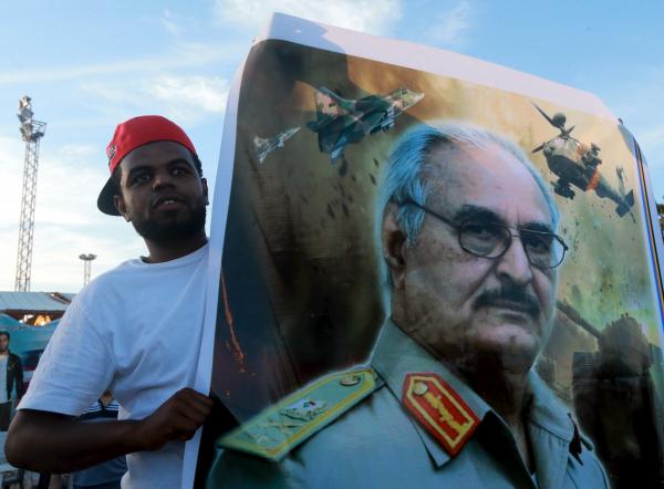 Ливийская армия отбила два нефтяных порта