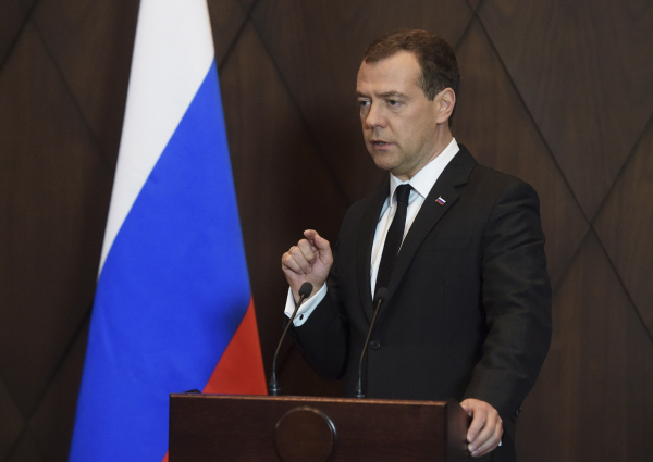 Д. Медведев прибыл вИркутск