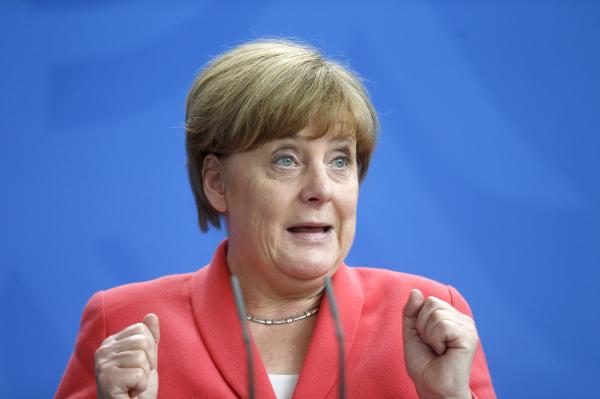Меркель поддержала создание общей финансовой зоныЕС и Российской Федерации