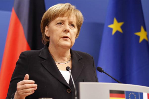 Ангела Меркель выступила заединую экономическую зону сРоссией