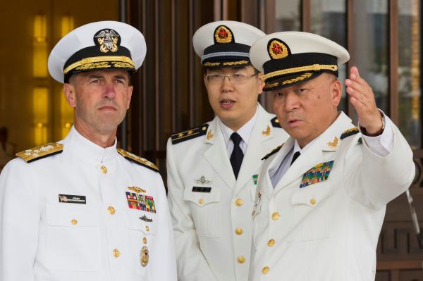 Министр обороны Китая призвал население готовиться квойне наморе