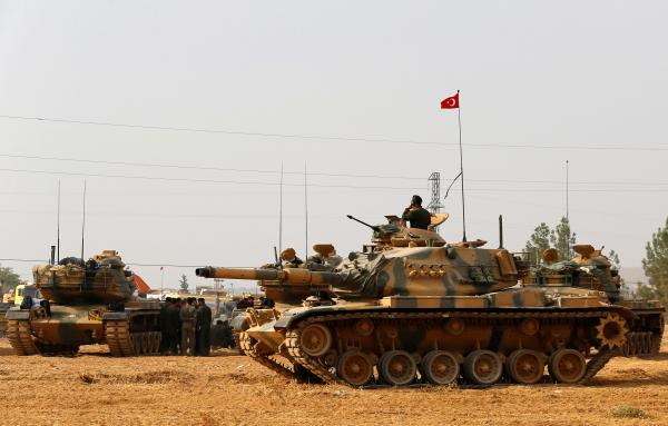 Турция готовится кштурму города вСирии