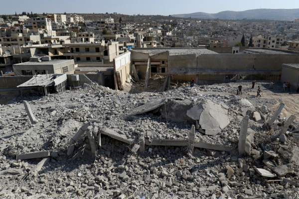 ВМинобороны назвали очередной фальшивкой сообщения обатаке ВКС напригороды Дамаска