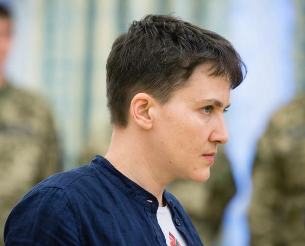 Шкиряк отправил Савченко голодать под Кремль