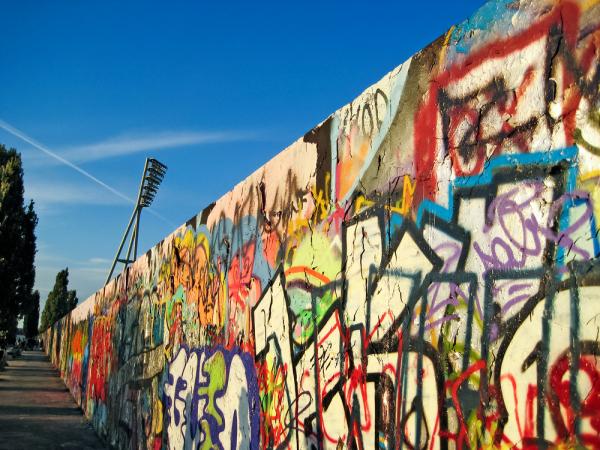 ВГермании насвалке отыскали фрагменты Берлинской стены