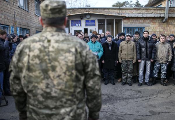 """""""На случай агрессии"""" - на Украине начались масштабные сборы резервистов"""