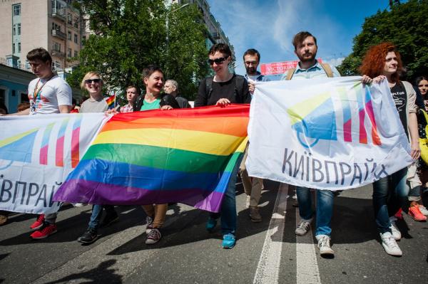 На Украине анонсировали легализацию однополых браков