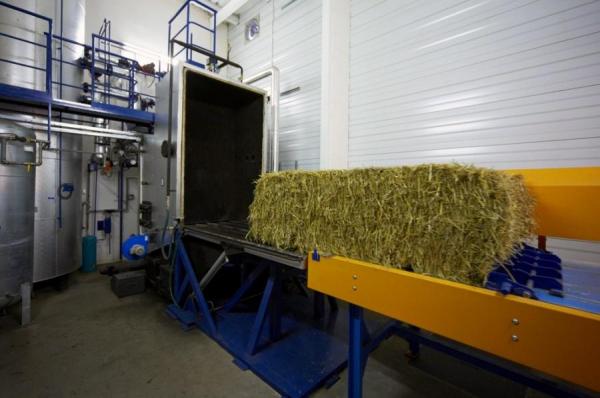 На Украине используют новый вид топлива - «патриотическую солому»