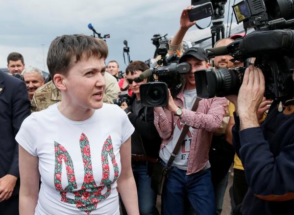 Надежду Савченко предложили назначить послом Украины в РФ