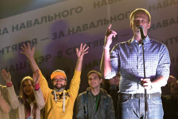 Навальный пообещал вывести жителей Новосибирска на акцию протеста