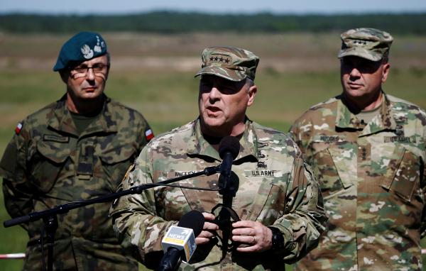 Американский генерал назвал непредвиденной решимость РФ вЮжной Осетии иСирии