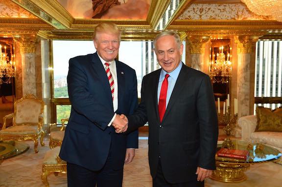 Дональд Трамп пообещал Израилю экстраординарную кооперацию